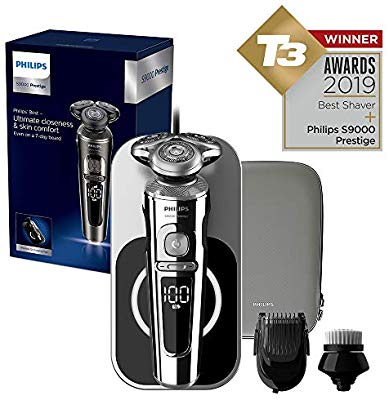 Philips Series 9000 Prestige Wet & Dry Electric Shaver with Qi