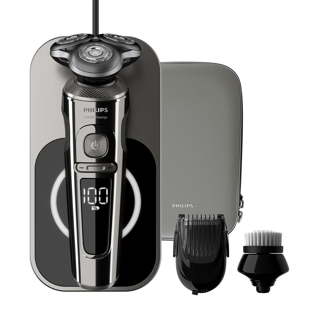 Shaver S9000 Prestige 9000 Series Wet Electric Shavers
